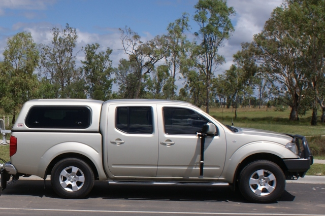 Our Current Tow Vehicle - 2010 Nissan Navara