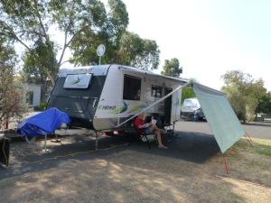 Our Caravan Site in Melbourne