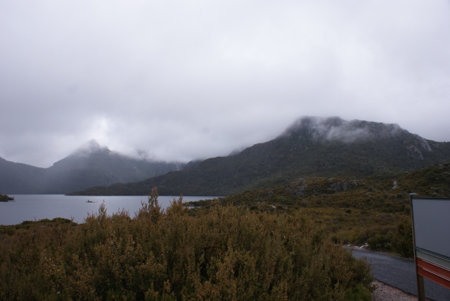 The Mountain Wreathed in Mist