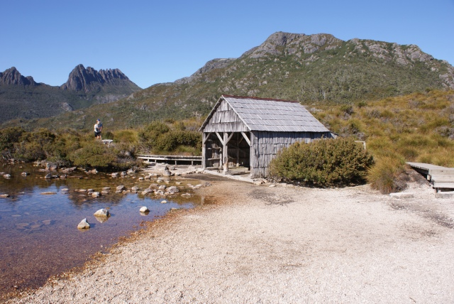 Historic Boat House on Dove Lake Circuit