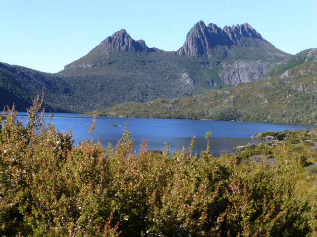 Cradle Mountain from Dove Lake Car Park