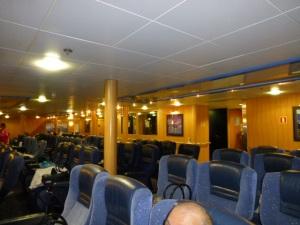 Ocean Recliner Lounge on Spirit of Tasmania II