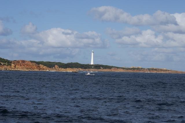 Lighthouse on Sorrell Point near Hells Gate