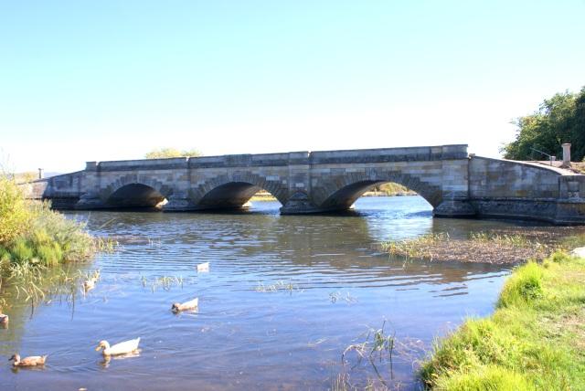 The Historic Bridge at Ross