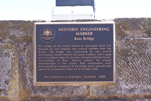 Institution of Engineers Australia Citation for Ross Bridge