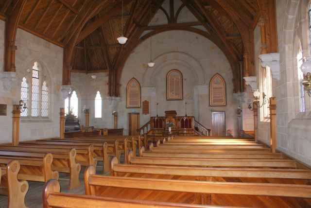 The Interior of the Magnificent Church at Ross