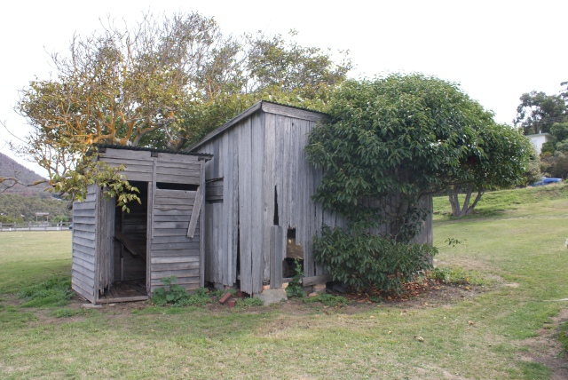 Old Building at the Dog Line