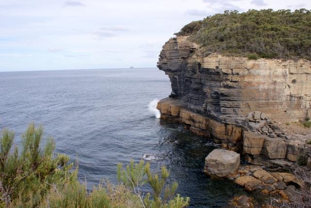 Sea Cliffs at Fossil Bay