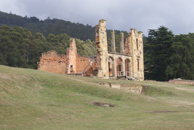 Remains of the Hospital at Port Arthur