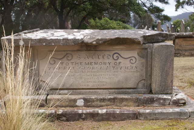 The Grand Grave Marker of the Anglican Minister