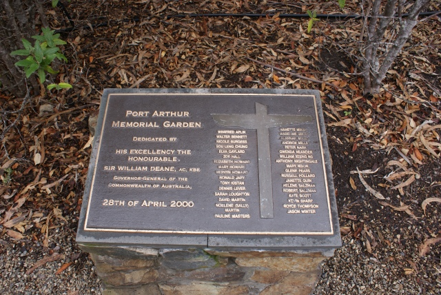 Memorial Marker to the Victims of the Mass Shooting 1996