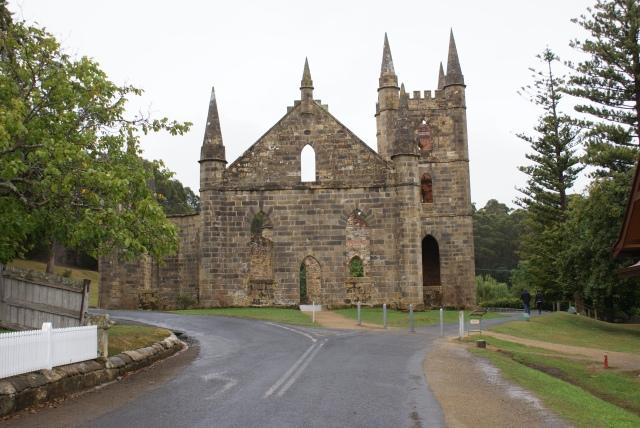 The Convict Church at Port Arthur