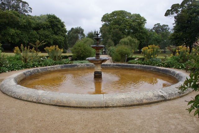 The Fountain in Government Gardens built by the Convicts