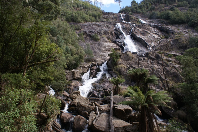 St Columba Falls from the Base of the Falls