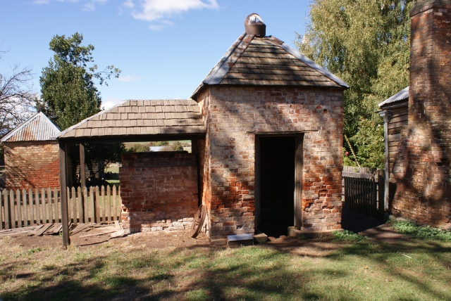 Smokehouse and Oven at Brickendon
