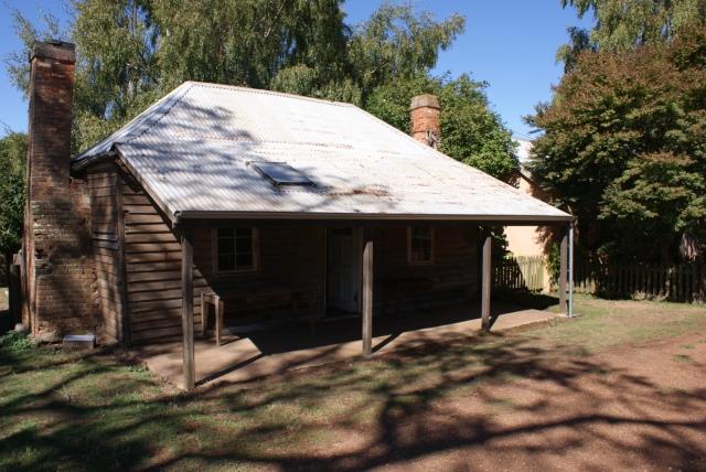 William Archers Cottage at Brickendon