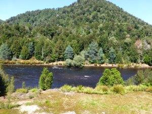 King River at the Dubbil Barril Siding