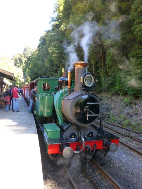 The Steam Engine that rund from Dubbil Barril to Queenstown