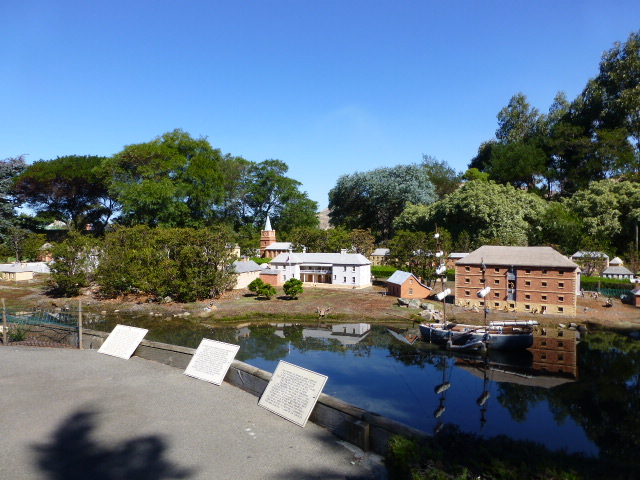 Part of the Model Village at Richmond