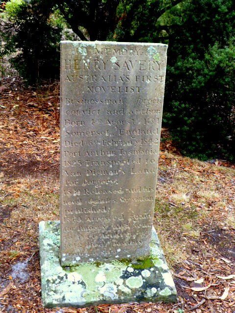 Gravestone on the Isle of the Dead