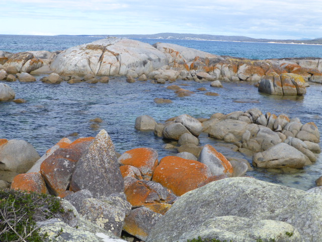 Rock Formation The Bay of Fires