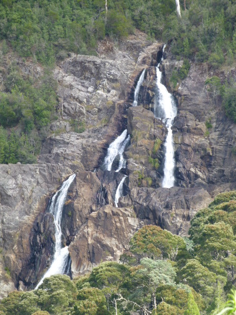 St Columba Falls From the Car Park