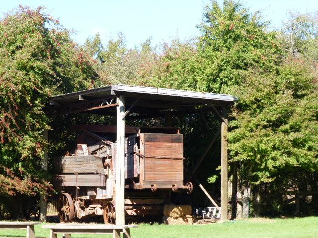 Old Hay Baler at Brickendon