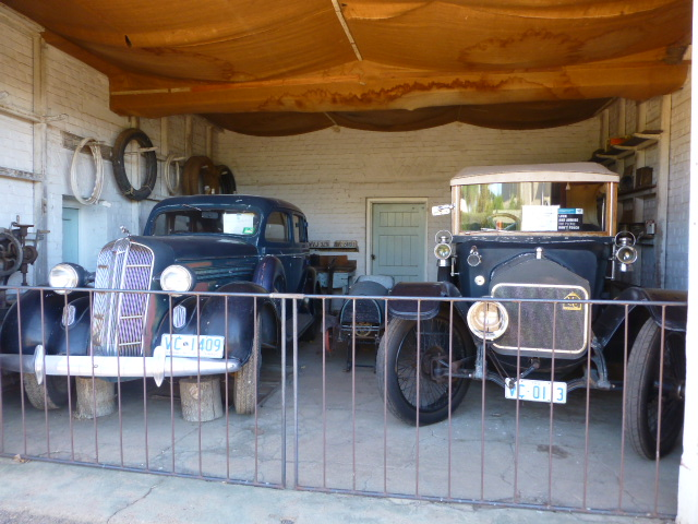 Family Vehicles at Woolmers