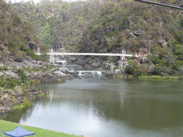 Alexandra Suspension Bridge at Cataract Gorge
