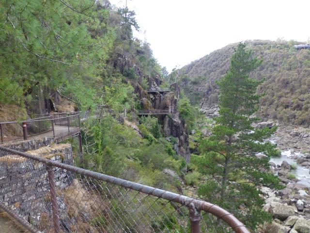 The Path Along the Cliff towards Kings Bridge