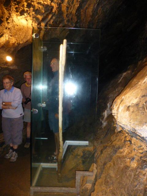 A Unique Stalagmite inside Marakoopa Cave