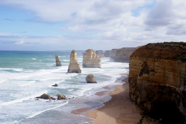 View from the platform at the Twelve Apostles