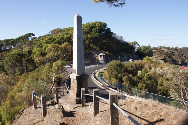 Adam Lindsay Gordon Monument and Rook Lookout at the Blue Lake