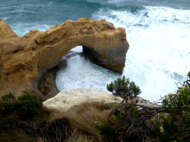 Surf Pounding The Arch near Port Campbell