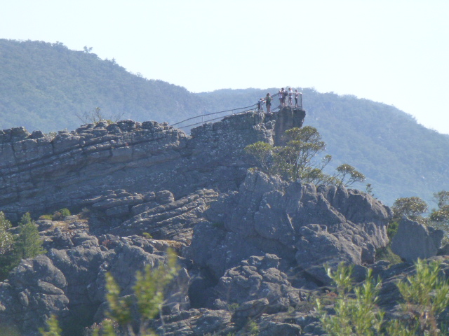 The Pinnacle Lookout from Afar