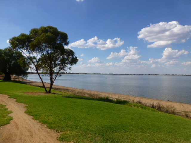 A View of Lake Boga