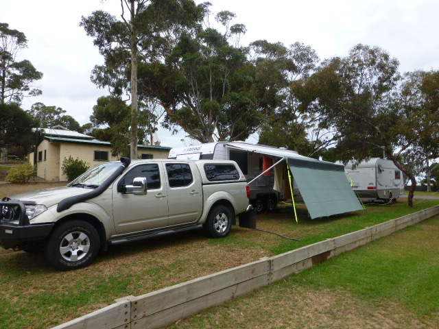 Our Camp at Victor Harbor