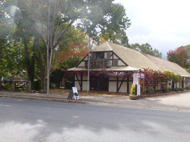 Cafe in Hahndorf in an Historic Building