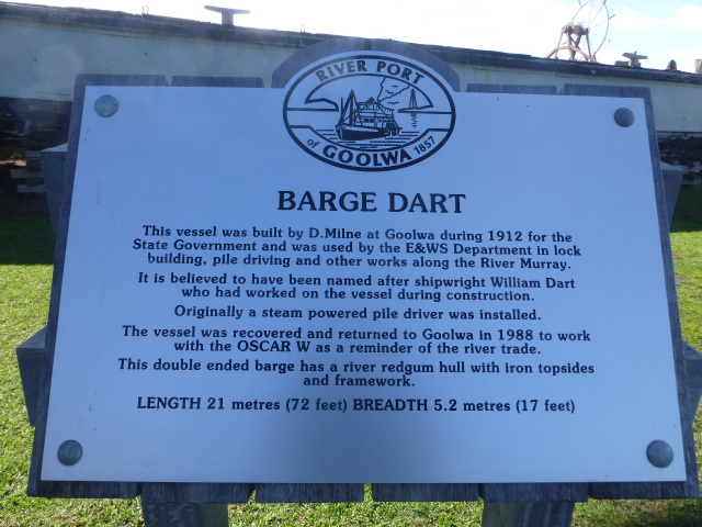 The Story of the Barge Dart
