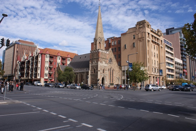 Uniting Church on North Terrace Adelaide