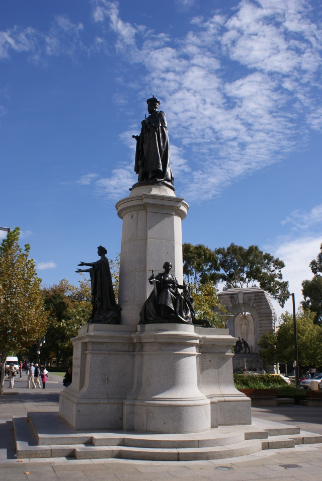 Statue in North Terrace Adelaide