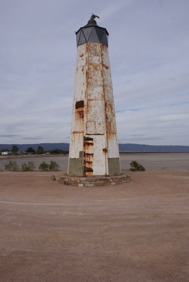 The Old Light at Port Germein