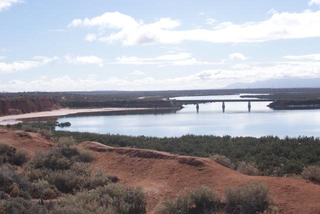 The Railway Bridge Near the Head of Spencer Gulf at Port Augusta