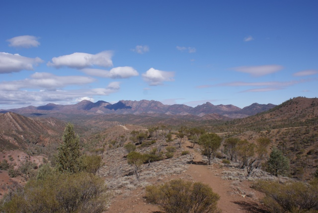 View from Lookout on the way to Bunyeroo Gorge