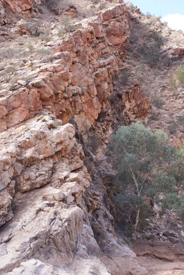 Rock Formation Brachina Gorge