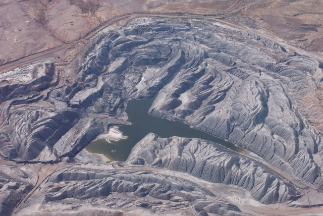 Part of Leigh Creek Coal Mine
