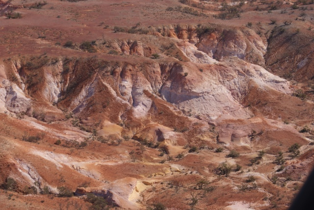 Different Formations in the Painted Hills