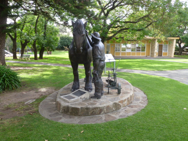 Park Statue in Angaston
