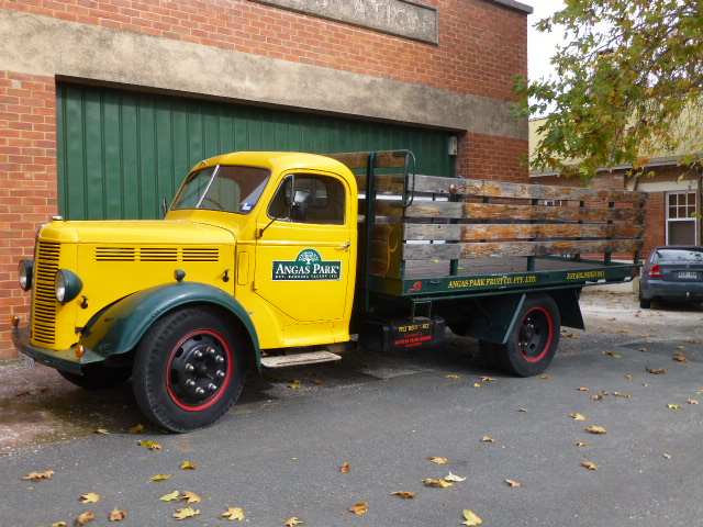 Old Truck Outside Angas Park Factory