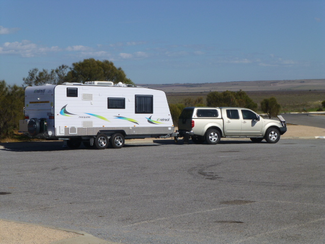 Our Rig at the Start of the Yorke Highway